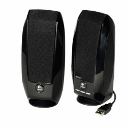 Boxe 2.0 Logitech S150 , Putere RMS 1.2 W , USB , Control volum , Negru