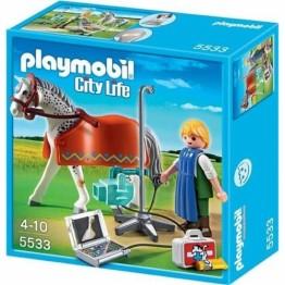 Calut cu tehnician X-Ray Playmobil