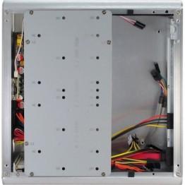 Carcasa desktop Inter-Tech E-I7 , HTCP , Sursa 90W , Argintiu