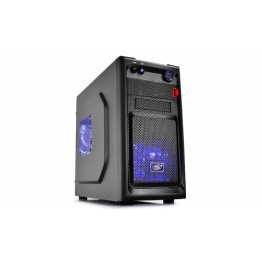 Carcasa desktop Deepcool Smarter LED , Mini Tower , USB 3.0 , Negru