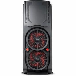 Carcasa desktop Game Daemon 6004 , Middle Tower , Filtre praf , Negru