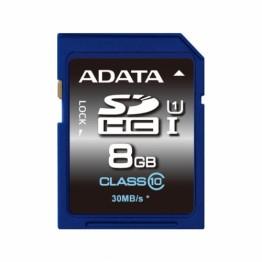 Card memorie AData SDHC Premier 8 GB Clasa 10 UHS-I U1
