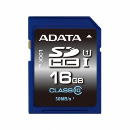 Card memorie AData SDHC Premier 16 GB Clasa 10 UHS-I U1