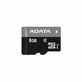 Card memorie AData Premier Micro SDHC  , 8 GB , Clasa 10 , UHS-I U1 , adaptor SD