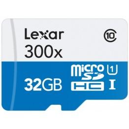 Card memorie Lexar 300X micro SD 32 GB Clasa 10 UHS-I