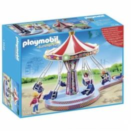 Caruselul din parcul de distractie Playmobil