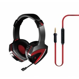 Casti audio A4Tech Bloody G500 , 3.5 mm Jack TRRS , Microfon , Gaming ,Negru/Rosu