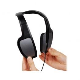Casti audio A4Tech HS-105 , Peste cap , 3.5 mm Jack , Reglare volum , Microfon , Negru/Argintiu