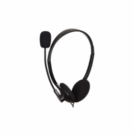 Casti audio Gembird MHS-123 , Peste cap , 3.5 mm Jack , Microfon , Negru