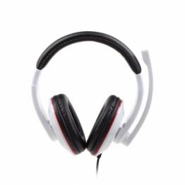 Casti audio Gembird MHS-001 , 3.5 mm Jack , Peste cap , Alb