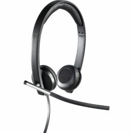 Casti Logitech Stereo H650e Negru