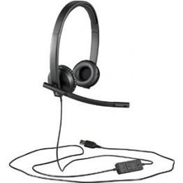 Casti Logitech stereo H570e Negru