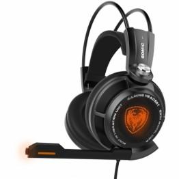 Casti gaming Somic G941 , 7.1 surround , Peste cap , Microfon , USB , Negru