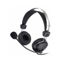 Casti audio cu microfon A4Tech ComfortFit HS-7P , Peste cap , 3.5 mm Jack , Microfon , Negru