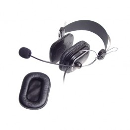 Casti audio A4Tech HS-60 , 3.5 mm Jack , Microfon , Negru