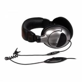 Casti audio gaming A4Tech HS-800 , 3.5 mm Jack , Peste cap , Microfon , Gri