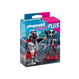 Cavaler cu stand de arme Playmobil