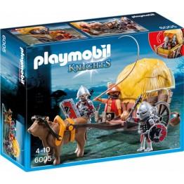 Cavalerii Soim cu trasura camuflata Playmobil