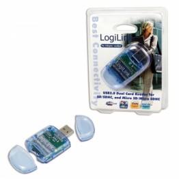 Cititor de carduri SD si MicroSD Logilink CR0015 USB 2.0