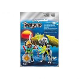 Dragonul luminii cu luptator Playmobil