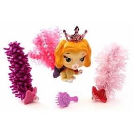 Catelusul printesei Belle cu 3 codite ce se pot schimba Blip Toys