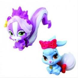 Figurina Disney 3.8 cm - Iepurasul Albei ca Zapada si Sconcsul lui Rapunzel (Berry si Meadow) Blip Toys