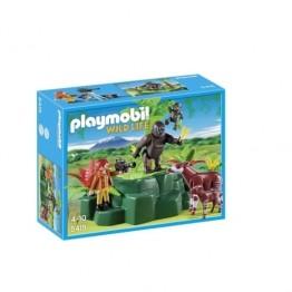 Gorile si Okapi Playmobil