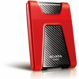 Hard disk extern A-Data Durable HD650 , 1 TB , USB 3.0 , Negru/Rosu