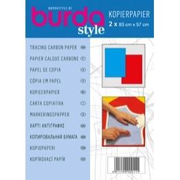 Hartie de copiat albastra si rosie Burda Style