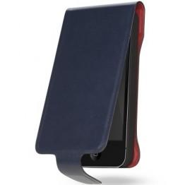 Husa protectie Cygnett Lavish Leather negru pentru iPhone 5
