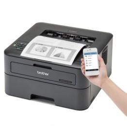 Imprimanta laser Brother HLL-2365DW Monocrom Format A4 Duplex Retea WiFi Negru