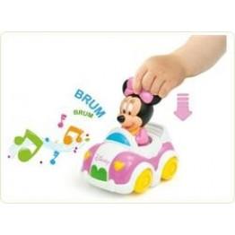 Masinuta muzicala Minnie Mouse Clementoni