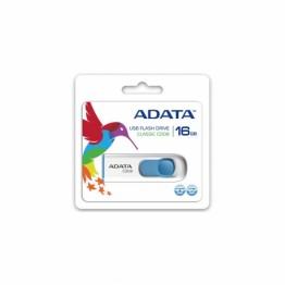 Stick memorie AData C008 , 16 GB , USB 2.0 , Alb/Albastru