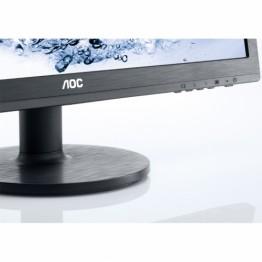 Monitor LED AOC E2460SH , Full HD , 24 inch , Panel TN , Negru