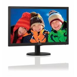 Monitor LED Philips 223V5LSB , Full HD , 21.5 Inch , 5 ms , SmartContrast , Negru