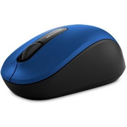 Mouse Microsoft Bluetooth Mobile 3600 , BlueTrack , 1000 DPI , Fara Fir , Albastru