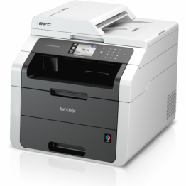Multifunctional Brother MFC-9140CDN, laser, color, format A4, fax, retea