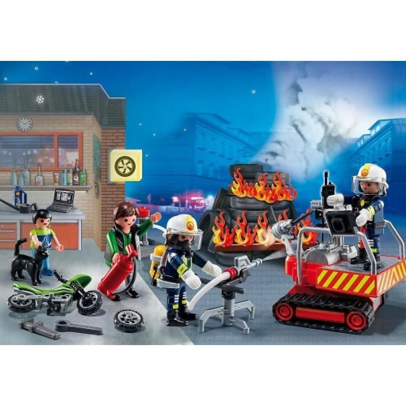 Calendar Craciun operatiunea de salvare Playmobil