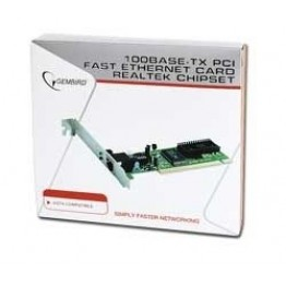 Placa de retea interna Gembird PCI 10/100 Mbps NIC-R1