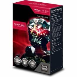 Placa video Sapphire AMD Radeon R5 230 , 1 GB GDDR3 , 64 Bit Bus