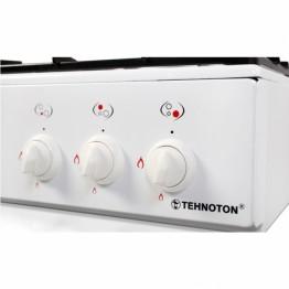 Plita pe gaz Tehnoton MINIFLAME 3, 3 arzatoare, culoare alb