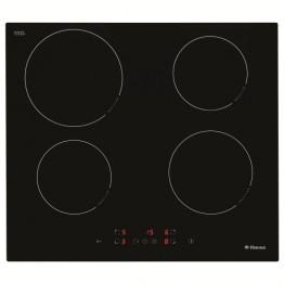 Plita incorporabila cu inductie Hansa BHI68300, 4 zone de gatit, touch control, sticla neagra