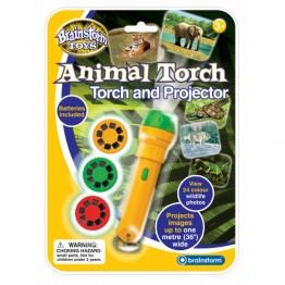 Proiector animale salbatice Brainstorm Toys