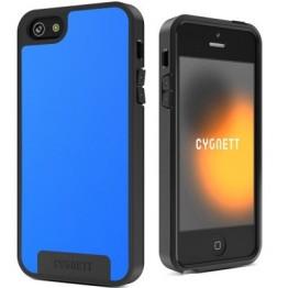 Protectie spate Cygnett Apollo albastru si negru pentru iPhone 5s