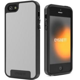 Protectie spate Cygnett Apollo alb si gri pentru iPhone 5s