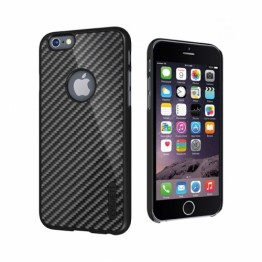 Protectie spate Cygnett UrbanShield negru carbon pentru iPhone 6