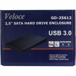 Rack extern Inter-Tech Veloce USB 3.0 2.5 inch