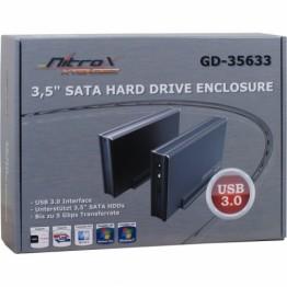 Rack extern Inter-Tech CobaNitrox Xtended USB 3.0 3.5 inch