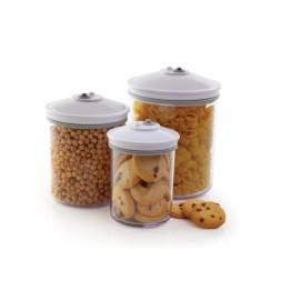 Set 3 caserole pentru vidare Food Saver , 0.7 litri , 1.4 litri , 2.4 litri , fara BPA