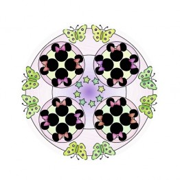 Set de creatie Mandala Minnie 2 in 1 Ravensburger
